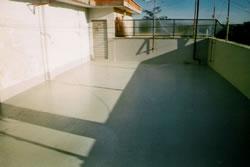 Copertura terrazzi e impermeabilizzazione con resina | Eriresine